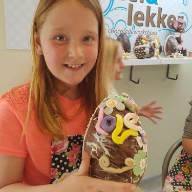 Chocolade ei workshop