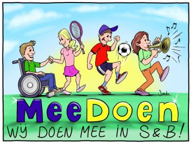 Logo Stichting MeeDoen S&B