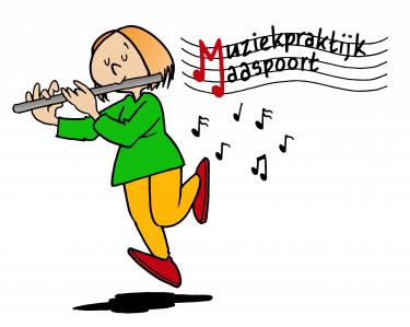 Logo Muziekpraktijk Maaspoort