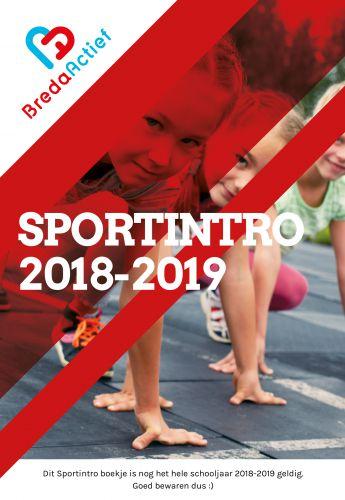 Sportintro Schooljaar 2018 - 2019