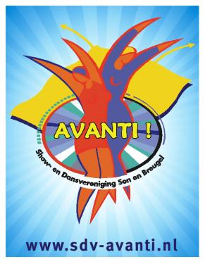 Logo Show- en dansvereniging Avanti!