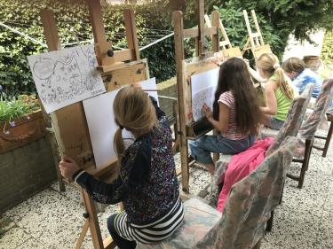 Logo Marion Janssen-Quaadvliet / MarQua Schilderijen & Workshops