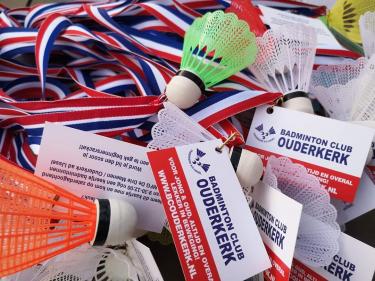 Logo Badminton Club Ouderkerk