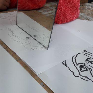 Tekenen portret