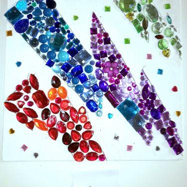 Diamantenschilderij